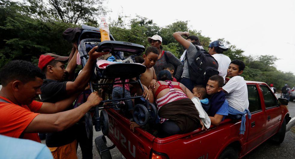 La primera dama hondureña señaló que se deportó en 2018 a unos 75.105 inmigrantes hondureños por residir de manera ilegal en Estados Unidos y México. (Foto: EFE)