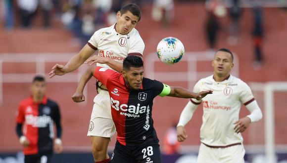 Universitario enfrentó a Melgar por la primera fecha del Torneo Apertura de la Liga 1 2020. En Arequipa, los cremas vencieron 2-1. (Foto: Jesús Saucedo/GEC)