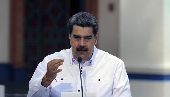 Imagen del presidente de Venezuela, Nicolás Maduro. (AFP/PRESIDENCIA VENEZUELA/Jhonn ZERPA).
