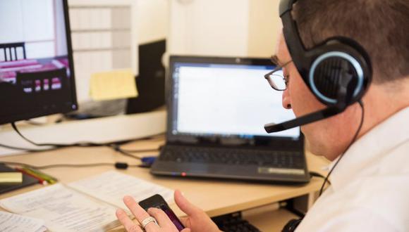 El 86% de peruanos usa mensajería digital en el trabajo remoto, según estudio de Brinca. (Foto: GEC)
