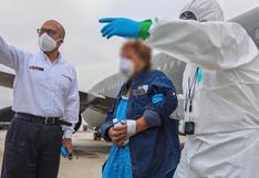 Coronavirus en Perú: trasladan a 10 pacientes COVID-19 en condición de riesgo de Loreto a Lima