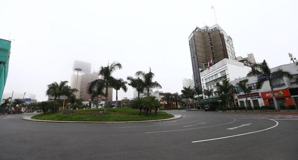 Recorrido por las calles de Lima en cuarentena total. (Foto: Jesus Saucedo)