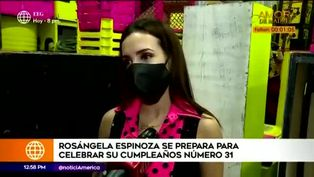Rosángela Espinoza se alista para celebrar sus 31 años