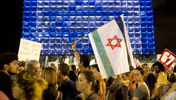 Israel: Cientos marchan en Tel Aviv contra la ofensiva en Gaza
