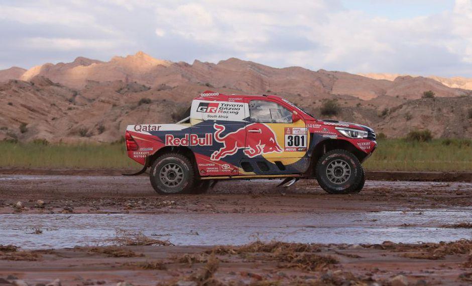 Dakar 2018: Al-Attiyah ganó la etapa 12 y Sainz sigue líder. (Foto: Agencias)