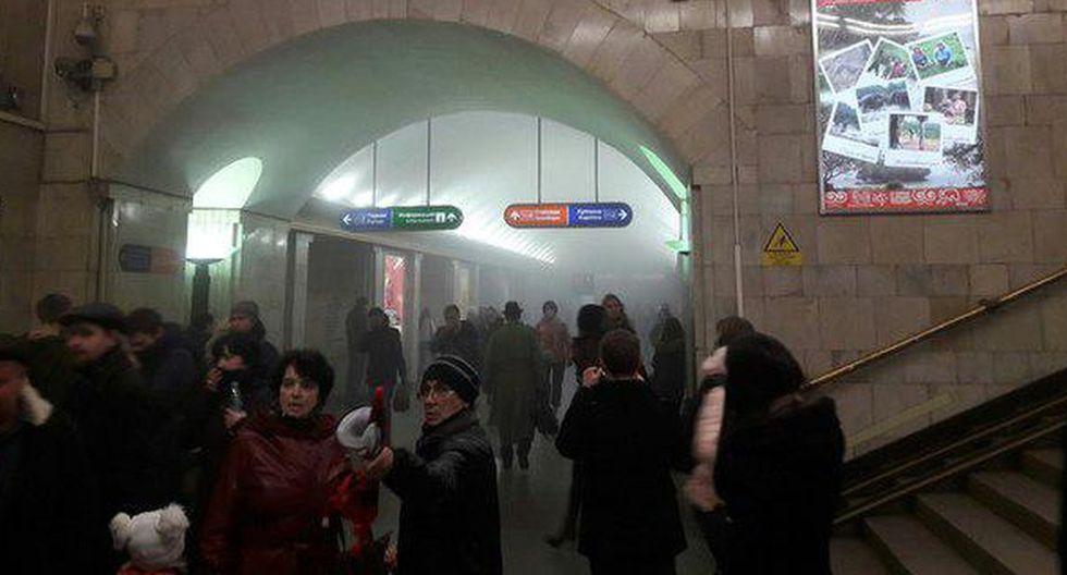 Rusia: Tragedia en el metro de San Petersburgo [FOTOS] - 5