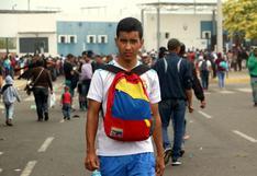 El fin de semana entraron por Tumbes más de 10 mil venezolanos