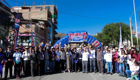 """""""La Vuelta al Huascarán"""" permitirá a los visitantes conocer los atractivos turísticos de nuestra región (Difusión: Municipalidad de Huaraz)."""