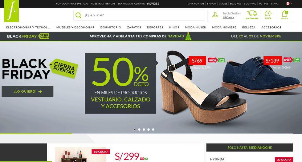 La tienda por departamento Saga Falabella ofrece descuentos en productos de vesturario, calzado y accesorios (Foto: Falabella)