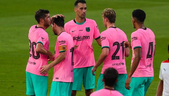Messi marcó doblete en triunfo azulgrana ante Girona. (Foto: FC Barcelona)