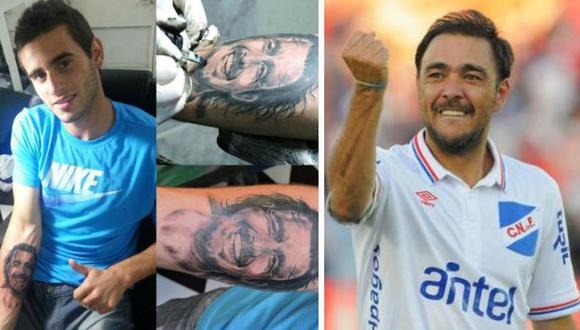 Álvaro Recoba, ídolo de uruguayos: Sub 20 se tatúa su rostro