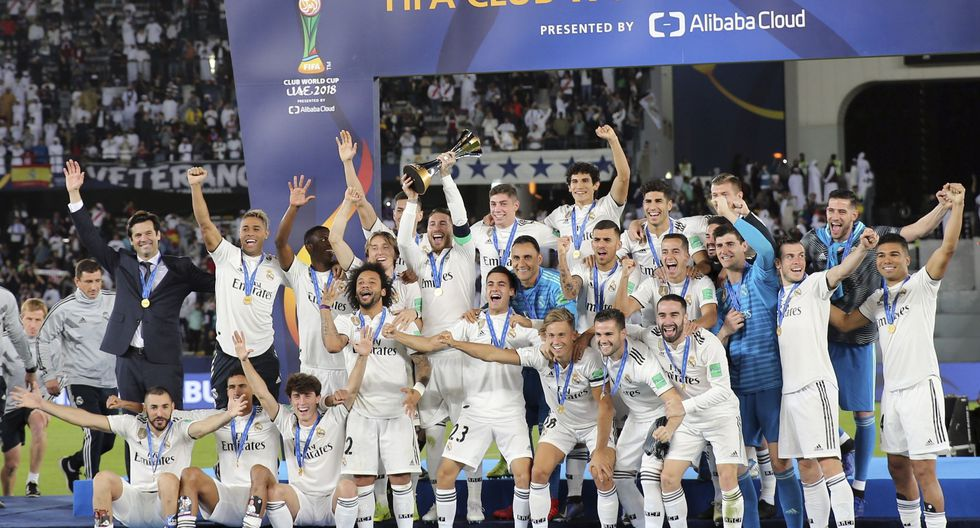 Real Madrid goleó 4-1 a Al Ain y se coronó tricampeón del Mundial de Clubes. (Foto: Reuters/AP/AFP)