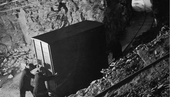 Desde el comienzo de la Segunda Guerra Mundial, las pinturas se habían almacenado en varias ubicaciones temporales de Gales, pero no eran del todo adecuadas para el largo plazo. (Foto: Getty Images vía BBC Mundo)