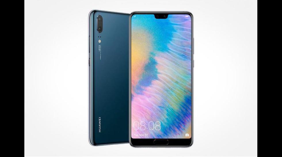 El Huawei P20 cuenta con una pantalla de 5.8 pulgadas