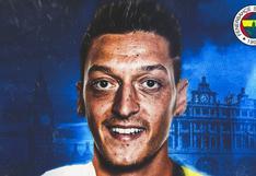 Mesut Özil fue oficializado como fichaje de Fenerbahce tras dejar Arsenal