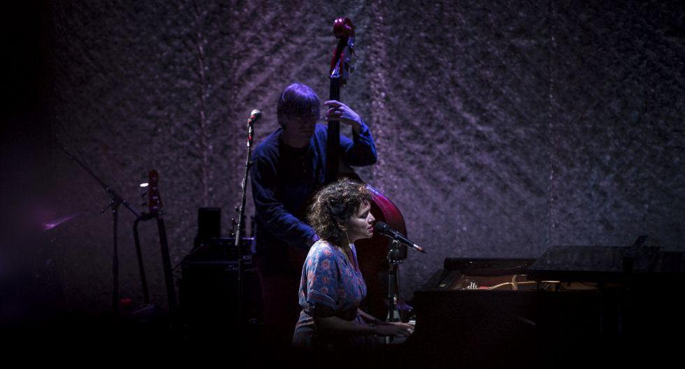 Norah Jones volvió al Perú después de siete años. Empezó en nuestro país la gira latinoamericana que terminará en Buenos Aires el 16 de diciembre. (Foto. Gabriela Delgado/ El Comercio)