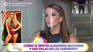 """Alejandra Baigorria: """"Ducelia pide regresar a los guerreros por detrás de cámaras"""""""