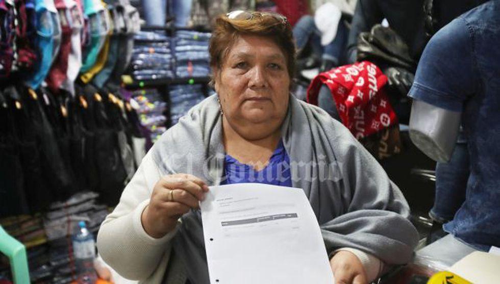 Susana Meneses Rojas, empresaria que asegura haber donado 200 polos para la campaña de Luis Castañeda, pero aparece en la ONPE como una aportante de S/40 mil.