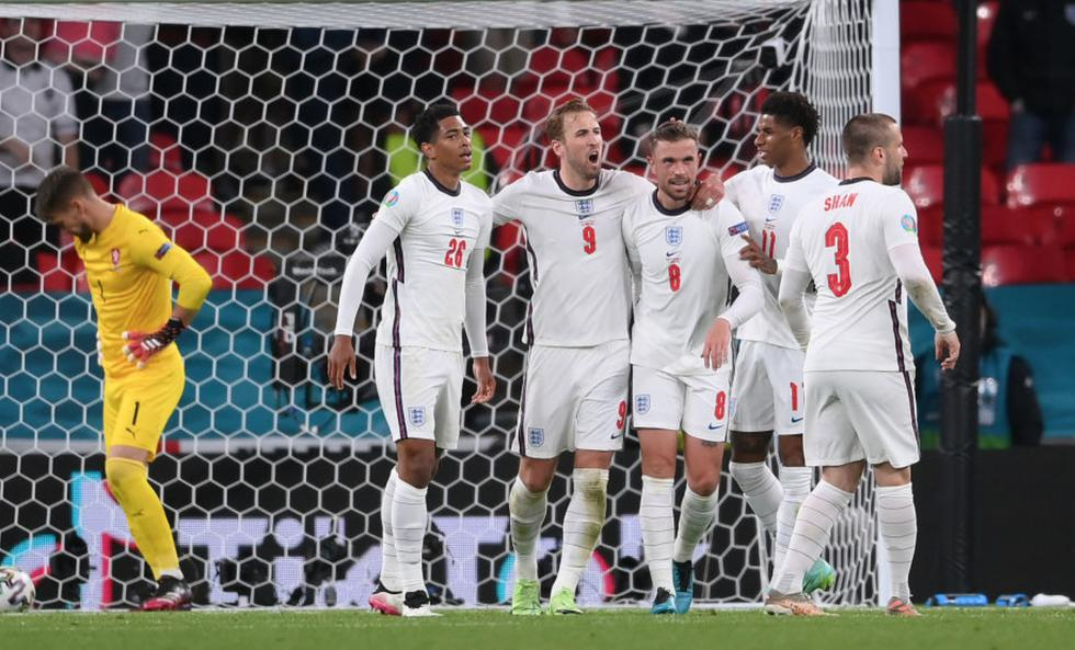 Inglaterra venció a República Checa por la Eurocopa 2021