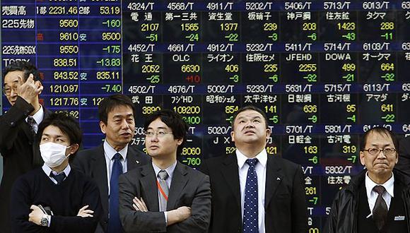 Diversos resultados en las bolsas asiáticas. (Foto: Reuters)