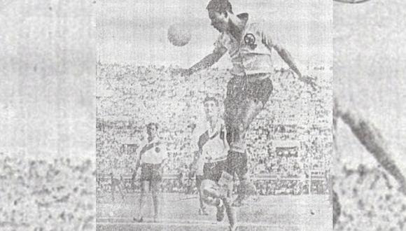 Valeriano López, el 'Tanque de Casma', destacó en el Boys y Alianza, en el fútbol peruano. (Foto: Archivo Histórico El Comercio)