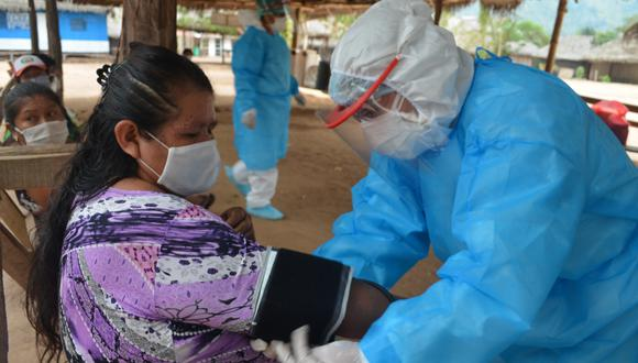 Brigadas de salud llegaron hasta comunidades nativas de Cajamarca para verificar el estado de salud de los pobladores. (Foto referencial / GEC)