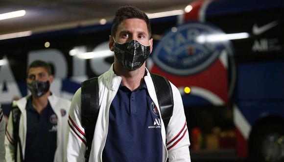 Lionel Messi es suplente contra el Reims por la Ligue 1 de Francia   Foto: @PSG_inside