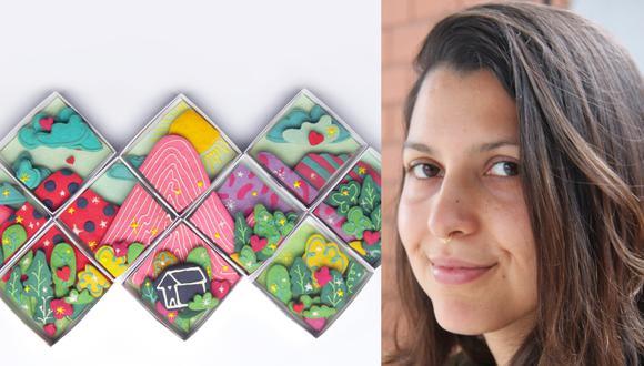 """Thalia Gonzales es diseñadora industrial y la mente creadora detrás de """"Recreo Food Desing"""", marca peruana que fusiona lo mejor del mundo de los postres con diseños delicadamente personalizados. (Fotos: Archivo personal Thalia Gonzales)"""