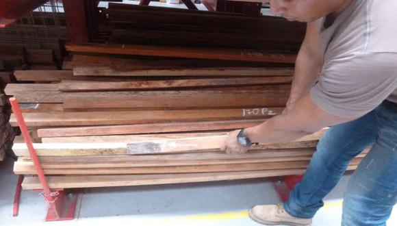 Ucayali incautó madera ilegal por S/. 1,8 mlls. este año