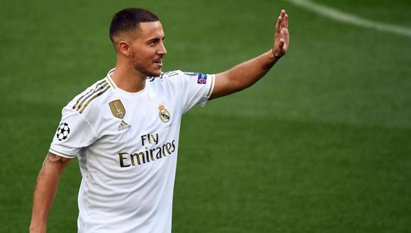 El precio del fichaje de Eden Hazard puede aumentar con el título liguero de Real Madrid. (Foto: AFP)