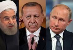Siria: cumbre tripartita en Teherán para decidir la suerte de Idlib