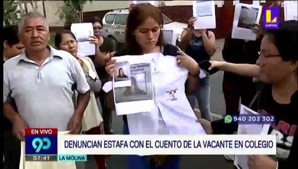 El abogado de los padres informó al matinal que denunciarán a la mujer en la comisaría de Santa Patricia por estafa agravada. (Foto captura: Latina)