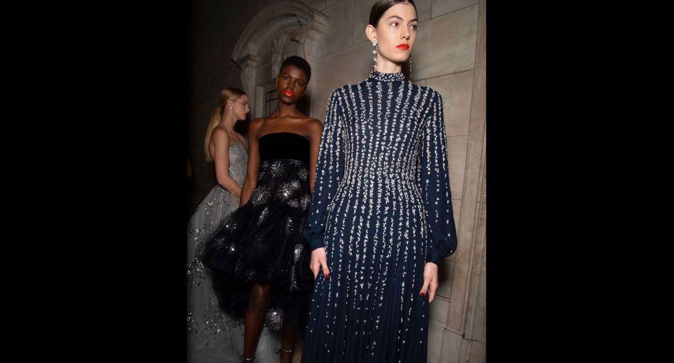 Los directores creativos Laura Kim y Fernando García presentaron una colección diversa compuesta por abrigos minimalistas y vestidos de gala. (Foto: elan_magzine)