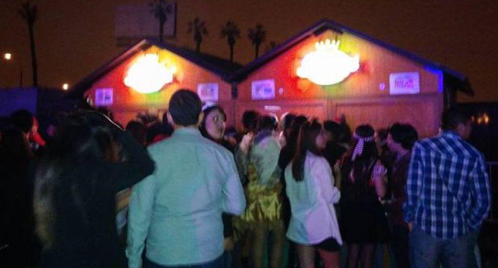 Jockey Club: jóvenes denuncian estafa en fiesta de Halloween