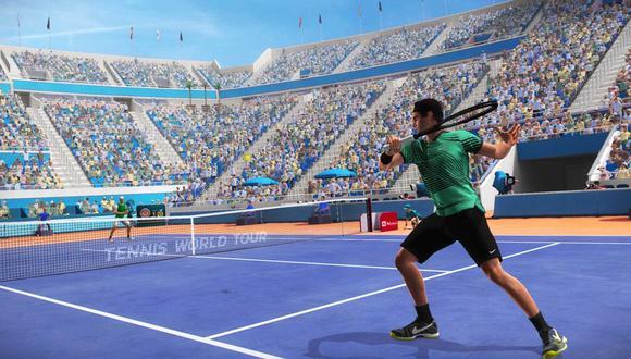 'Tennis World Tour 2', uno de los juegos que regala PlayStation Plus a todos sus suscriptores vigentes en el mes de agosto. (Foto: Captura en PS Plus)