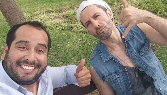 Fabricio Cerna (Marco Zunino) y Celestino Miranda (Junior Silva). (Foto: Facebook)