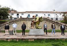 """""""El abrazo imposible"""": la nueva escultura en el Cusco que representa la unión entre los peruanos"""