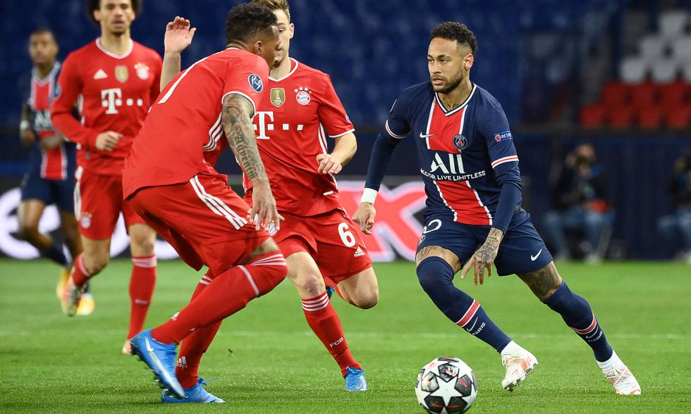 PSG choca ante Bayern en el Parque de los Príncipes | Foto: AFP