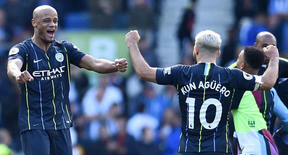 Manchester City campeón de la Premier League temporada 2017-18 (Foto: Reuters)