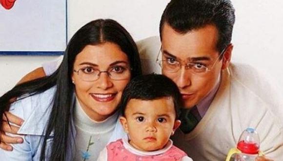 Betty y don Armando se casaron y tuvieron una pequeña hija llamada Camila (Foto: Canal RCN)