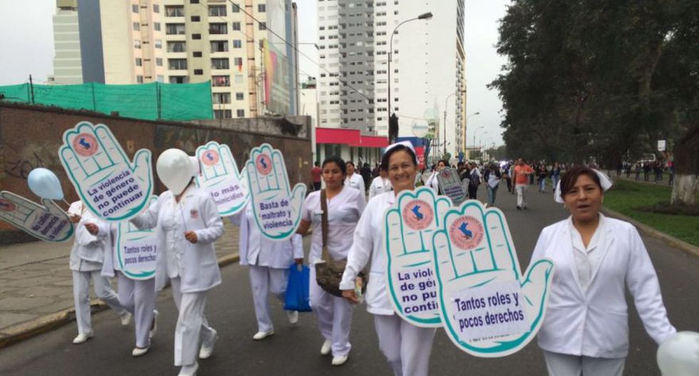 #NiUnaMenos: así se desarrolló la marcha en Lima [FOTOS] - 5