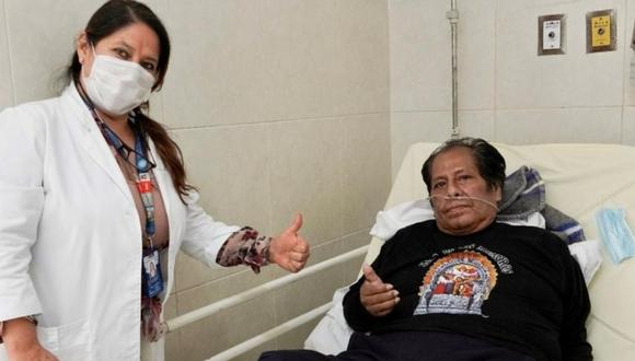 """'Cachuca', líder de """"Los Mojarras"""", fue dado de alta tras casi 90 días en la Unidad de Cuidados Intensivos (UCI). (Foto: Facebook oficial de Los Mojarras)"""