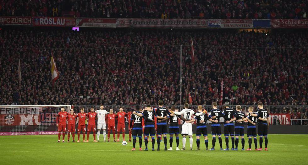 Estas fueron las mejores imágenes del duelo entre Bayern Múnich vs. Paderborn por la jornada 23 de la Bundesliga. EFE/EPA/LUKAS BARTH-TUTTAS
