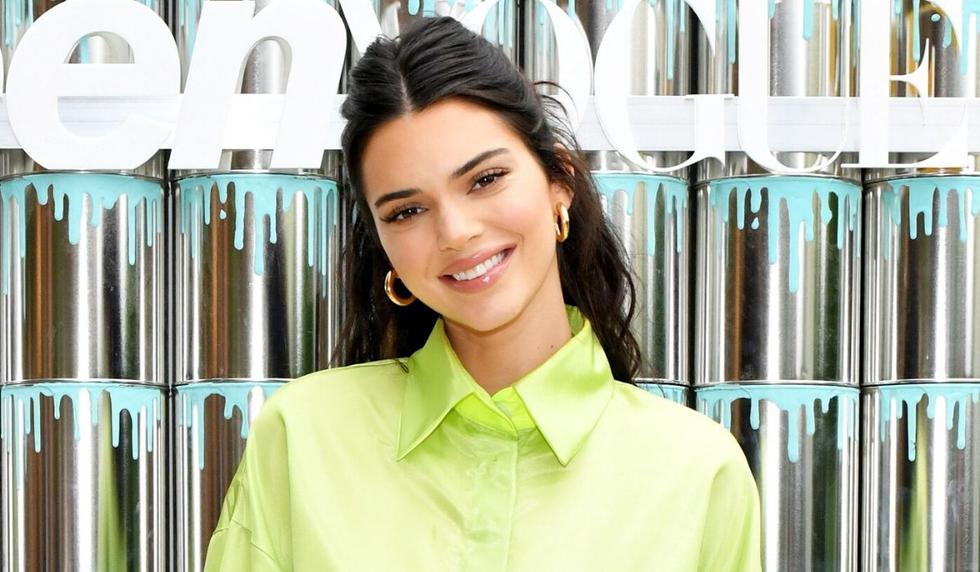 Kendall Jenner dejó encantados a sus fanáticos con su color de cabello.  (AFP)
