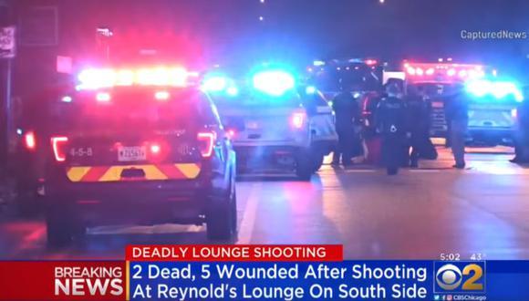 Dos hombres, de 36 y 39 años de edad, murieron tras ser llevados al Centro Médico de la Universidad de Chicago. (Foto: Captura)