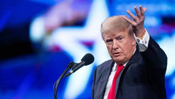 El ex presidente de Estados Unidos Donald Trump. (Foto: Andy JACOBSOHN / AFP).