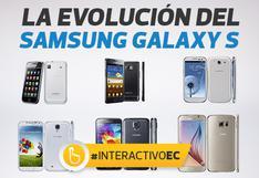 La evolución de los teléfonos Galaxy S de Samsung [Interactivo]