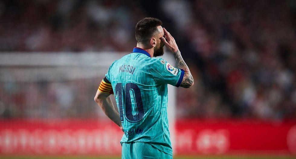 Lionel Messi, estrella del Barcelona. (Foto: AFP)