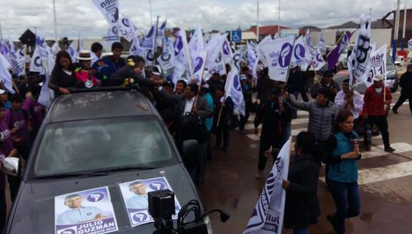 Julio Guzmán pide investigar las denuncias del Caso Lava Jato