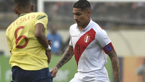 Perú vs. Colombia: Paolo Guerrero es la principal arma de ataque en el conjunto que dirige Ricardo Gareca. (AFP)